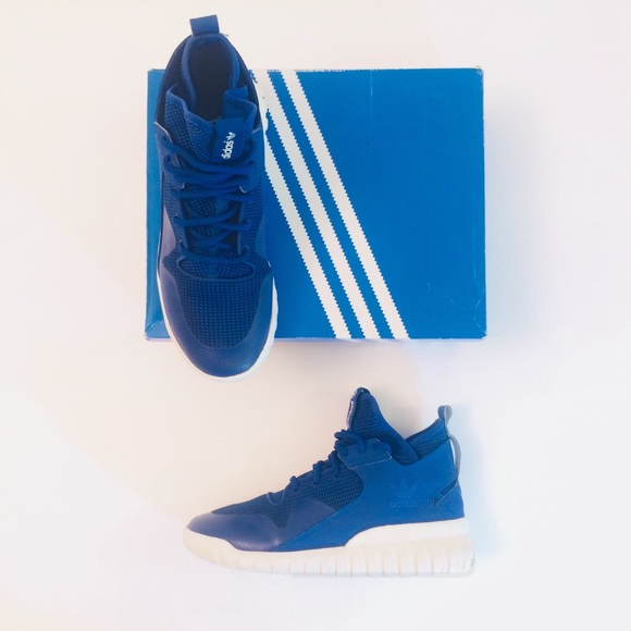 Le adidas tubulare x blu royal numero 85 di seconda mano poshmark